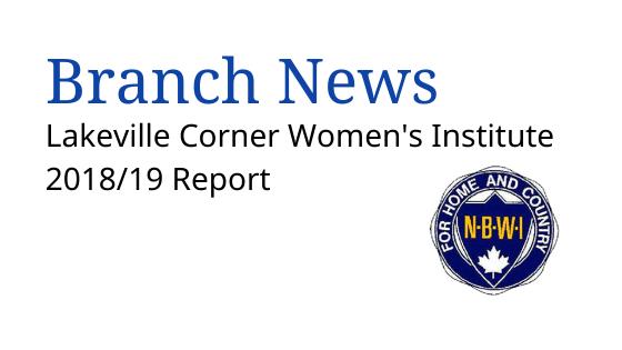 Lakeville Corner WI 2018-2019 Report | nbwi.ca
