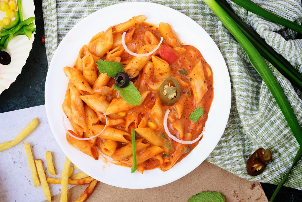 Maple Curry Chicken Pasta | nbwi.ca